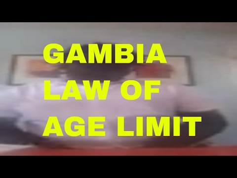 GAMBIA AGE LIMIT LAW, QCELL, BACK WAY ROAD, SOUTH  AFRICA SITUATION,