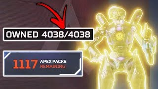 We Unlocked EVERYTHING In Apex Legends, Here's What it Cost...