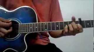 Tutorial de Eres tu (danilo montero) Guitarra