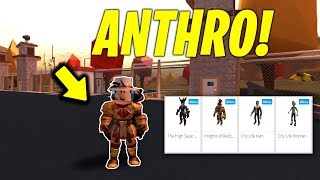 HOW TO GET ANTHRO IN ROBLOX JAILBREAK! (Rthro)