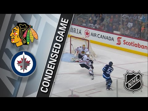 03/15/18 Condensed Game: Blackhawks @ Jets