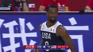 SERBIA VS USA HIGHLIGHTS | CLASSIFICATION | FIBA WORLD CUP 2019