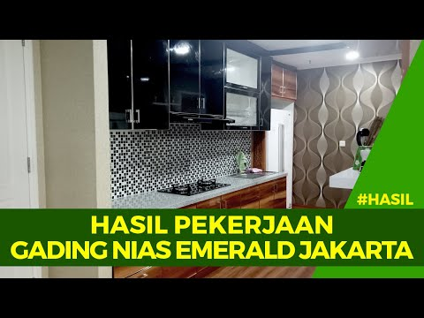 #HASILPEKERJAAN : APARTEMEN GADING NIAS EMERALD, KELAPA GADING - DKI JAKARTA