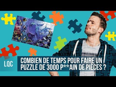 LQC - Finir un puzzle de 3000 pièces ?