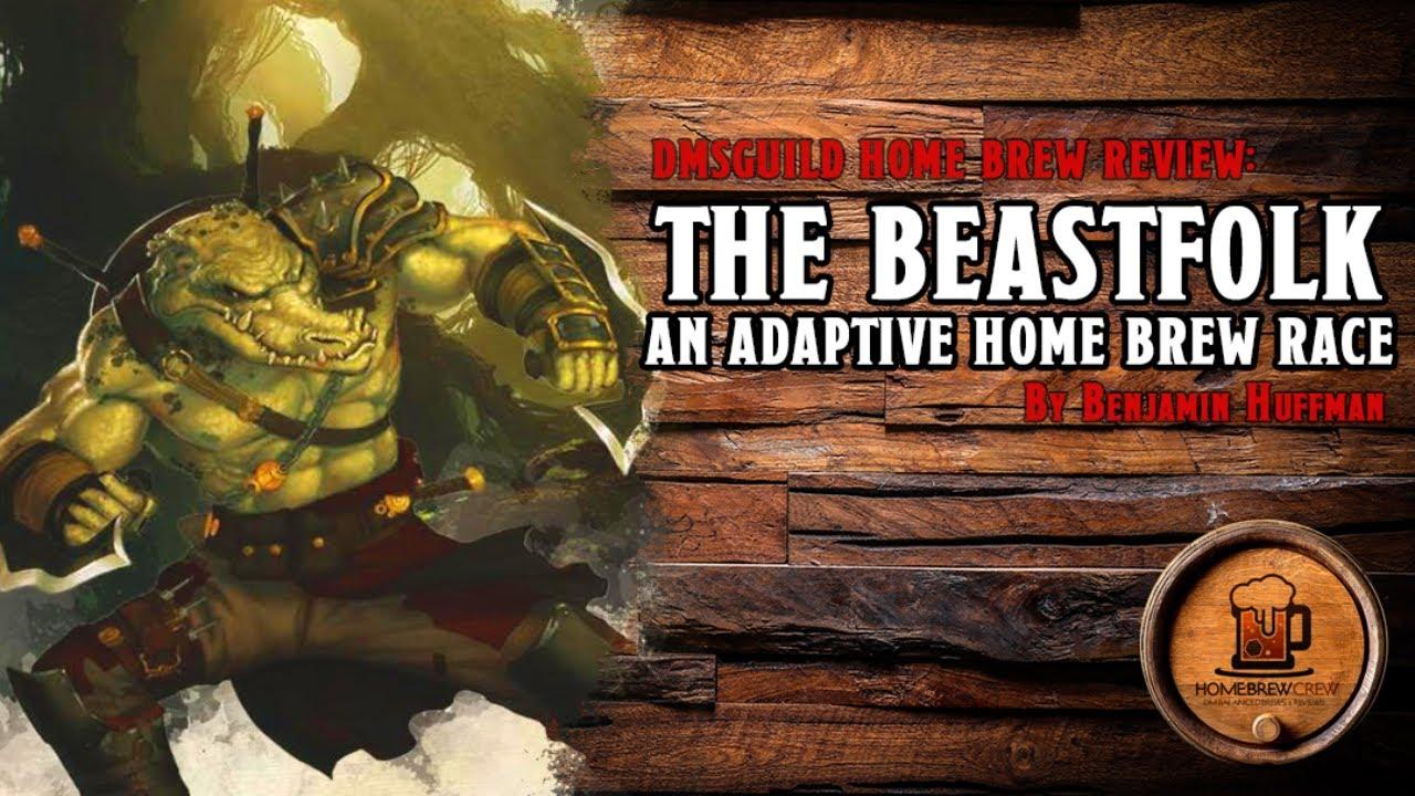The Beastfolk D D Home Brew Race Dungeons Dragons Youtube
