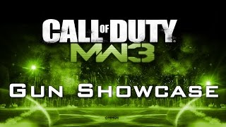 Call Of Duty: Modern Warfare 3 - All Weapons Shown