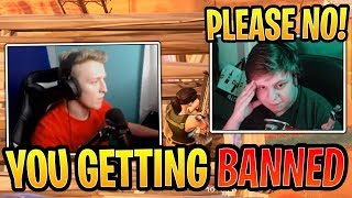 Kid Freaks Out que Tfue Gets Him BANNED for Stream Sniping - Fortnite Best and Funny Moments