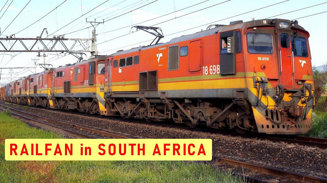 TRANSNET freight trains resume Dual Line working | Railway Dog Guest Appearance |Trains South Africa