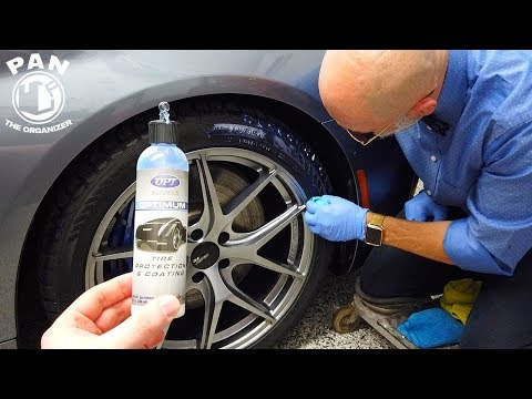 A tire dressing that lasts 6 to 12 months ?!? Optimum Tire Protection & Coating