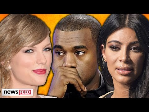 Taylor Swift & Kim Kardashian REACT To Leaked Call With Kany