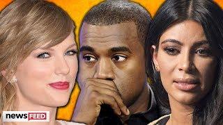 Taylor Swift & Kİm Kardashian REACT To Leaked Call With Kanye West!