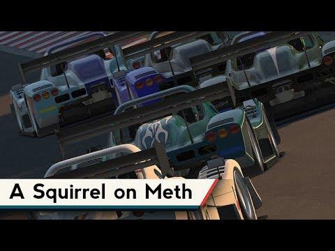 iRacing : A Squirrel on Meth [VR] (Radical @ Okayama)