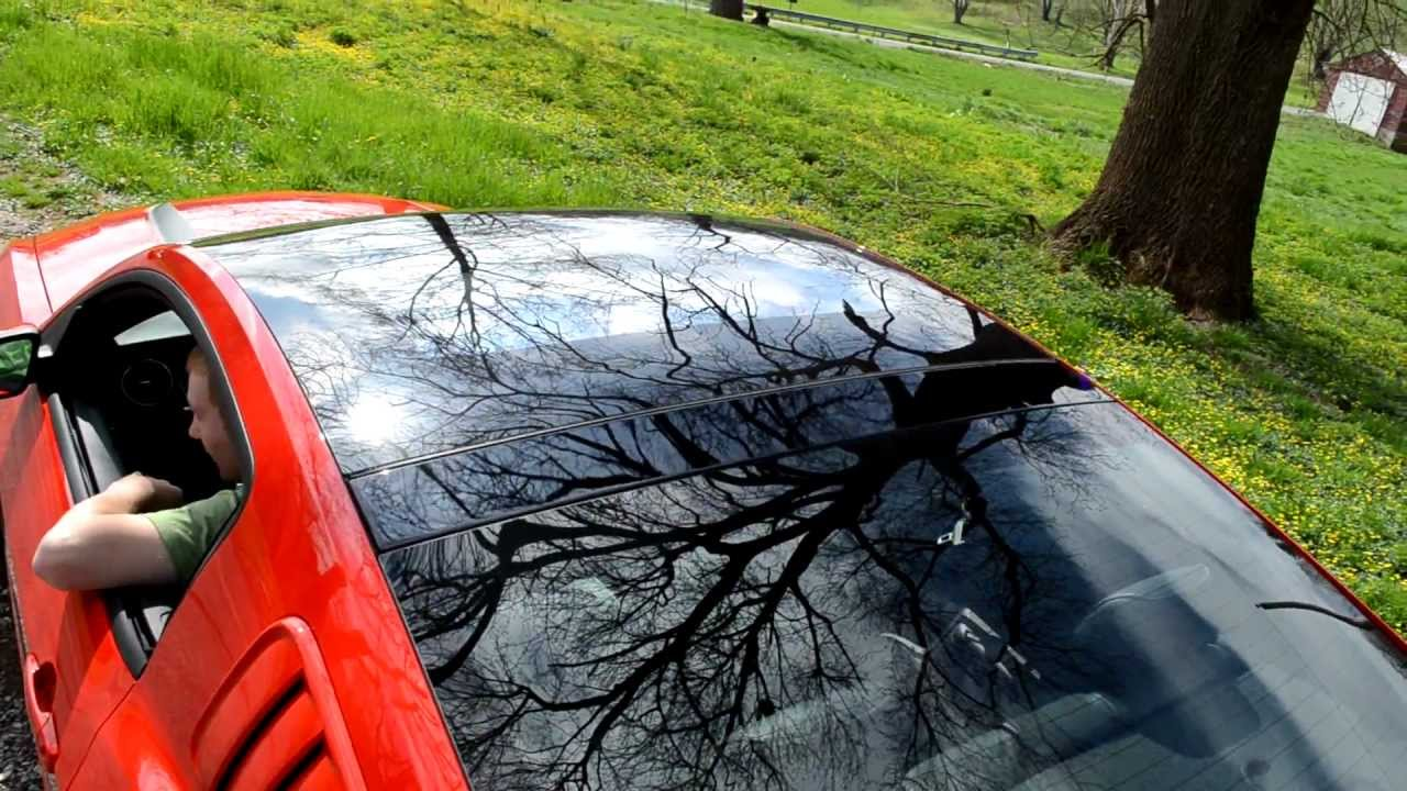 Superior My 2012 Mustang GT/CS Glass Roof   YouTube