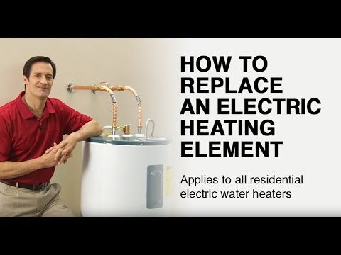 Wiring Diagram For Two Element Hot Water Heater Nissan Titan How To Replace An Electric Heating Youtube