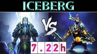 Iceberg [Zeus] vs [Alchemist] ► EU Ranked ► Dota 2 7.22h