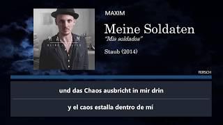 MAXIM - Meine Soldaten (Letra Alemán y Español)