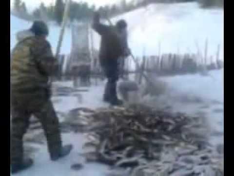 Ice Fishing Russian Style