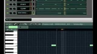 Создание базовой ударной партии для electro/freestyle музыки(Скачать проект этого урока можно на сайте www.electro-freestyle.ru . В данном уроке подробно показано, как создаётся..., 2009-05-30T18:46:34.000Z)
