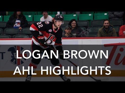 Logan Brown #22 | AHL Highlights | 2018-19