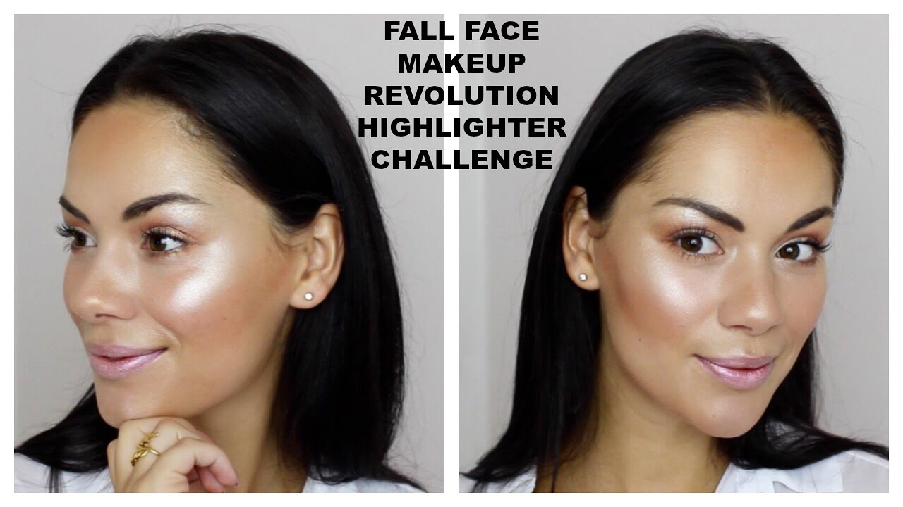 FULL FACE MAKEUP REVOLUTION HIGHLIGHT CHALLENGE