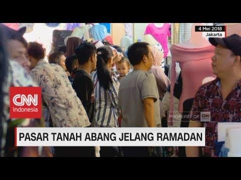 Situasi Pasar Tanah Abang Jelang Ramadan