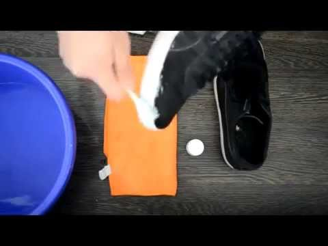 how to clean your shoes with toothpaste and a toothbrush youtube. Black Bedroom Furniture Sets. Home Design Ideas
