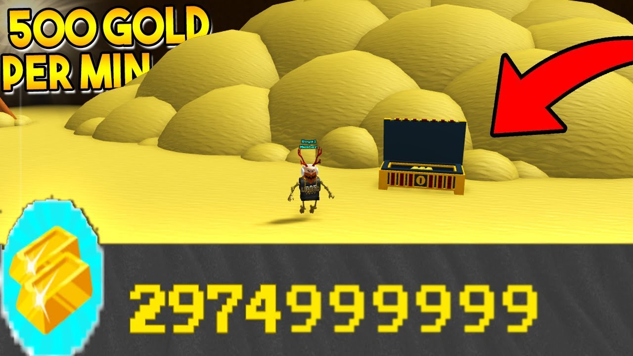 BEST GOLD GRINDING METHOD *EVER* (500 Gold per min) | Build a boat For  Treasure ROBLOX