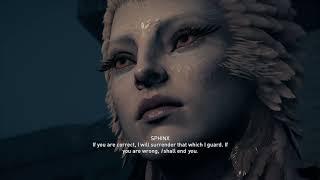 Assassin's Creed Odyssey - Awaken The Myth: Kassandra Meets The Sphinx Introduction Cutscene (2018)