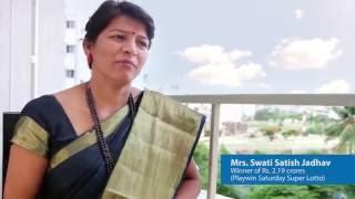 Meet Playwin's 94th crorepati Mrs. Swati Jadhav