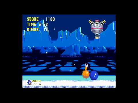 Sonic the Hedgehog 3 Boss 9 - Big Icedus