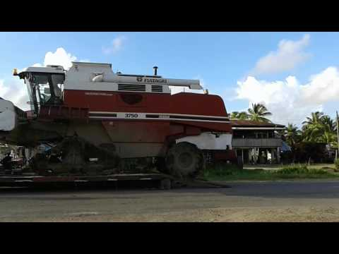Fiat 3750 combine in Guyana the power of deron sports