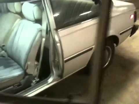1984 Nissan sentra b11 - YouTube