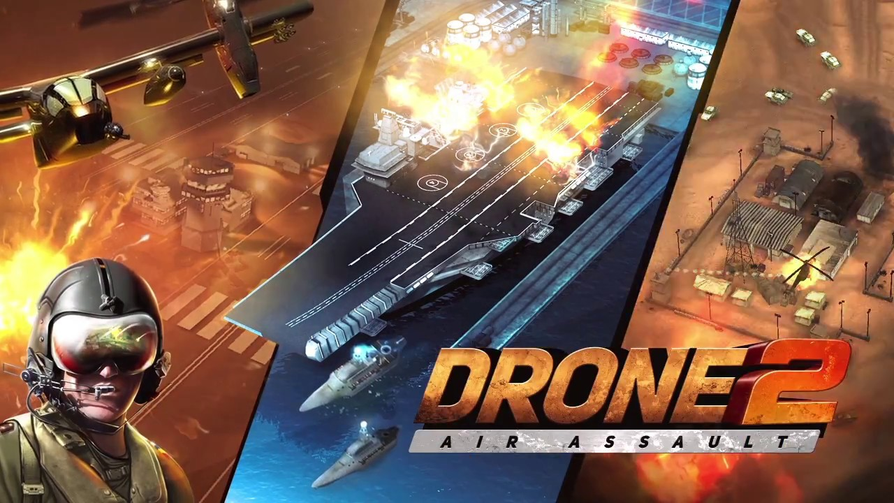 DRONE 2 AIR ASSAULT - GAMEPLAY TRAILER - YouTube