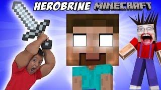 Minecraft: Herobrine Вопли !! папа и сын Приключения (Майкс Spawner)