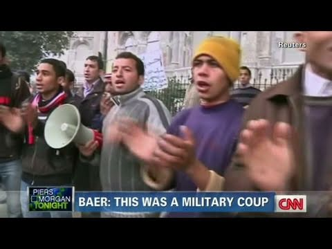 CNN: Robert Baer 'Mubarak ousted in a coup'