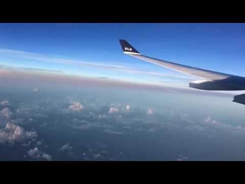 Fiji timelapse flight : Singapore - Nadi (Fiji)