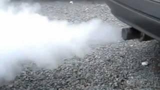 Dica: Motor fumando (Fumaça branca, azul e preta)