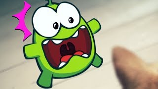 Om Nom Stories - Ghost Terror | Cut The Rope | Funny Cartoons For Kids | Kids Videos