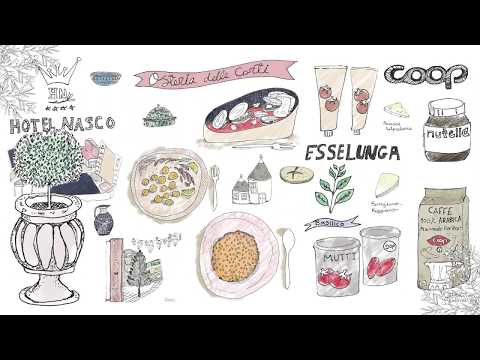 Yaansoon Food & Travel Illustration Portfolio | Aug 2017