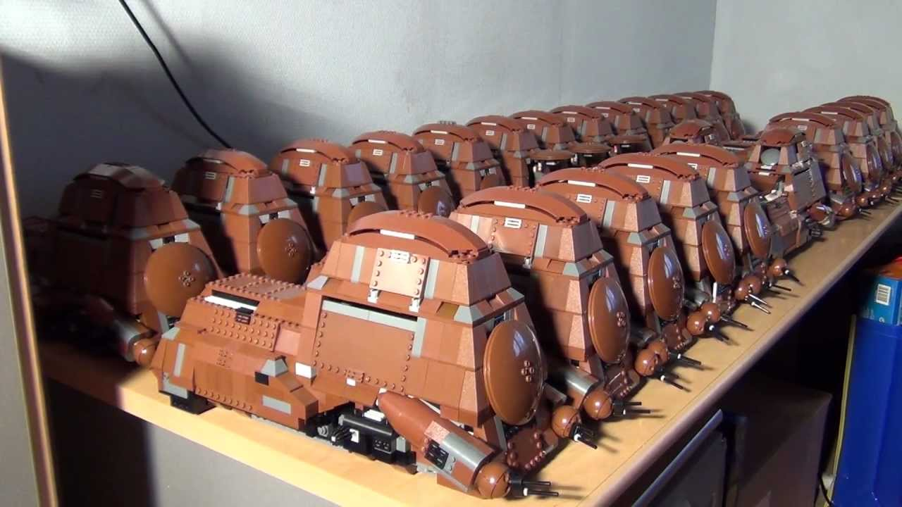 My Lego Droid Army with 25 MTT 's