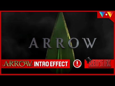 Arrow Intro Title Hitfilm Tutorial + Free Preset | Red's Fx