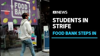 International students stranded in Australia, surviving on charity food | ABC News