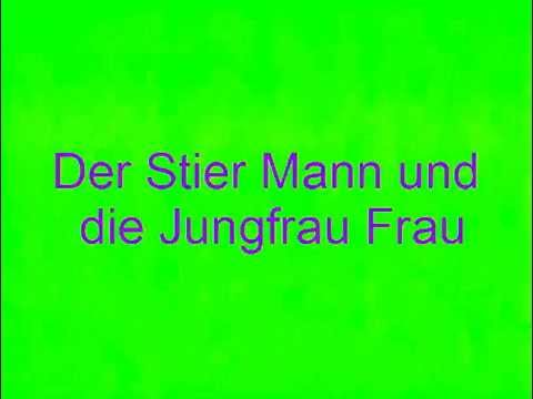 der stier mann und die jungfrau frau youtube. Black Bedroom Furniture Sets. Home Design Ideas