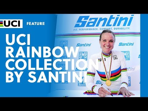 Santini presents the new UCI Rainbow Collection