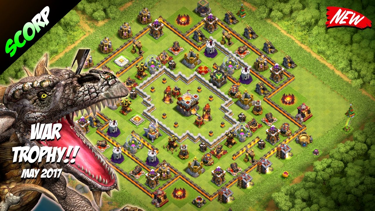 Base War Th 11 Legend 10
