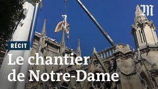 Au cœur du chantier de Notre-Dame de Paris ravagée par l'incendie