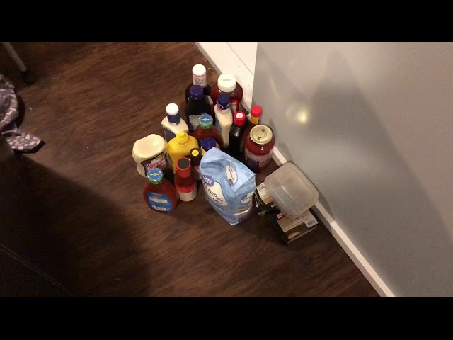 Building Efficient Food Storage Shelves In A Closest