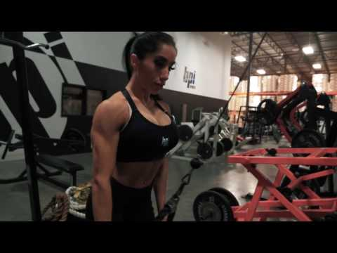 Back Workout Fueled by Best Creatine Defined - IFBB Pro Narmin Assria