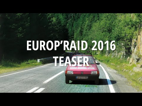 Europ'Raid 2016 - Bande annonce