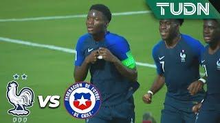 Agoumé marca el primero | Francia 1 - 0 Chile | Mundial Sub 17   J 1 | TUDN